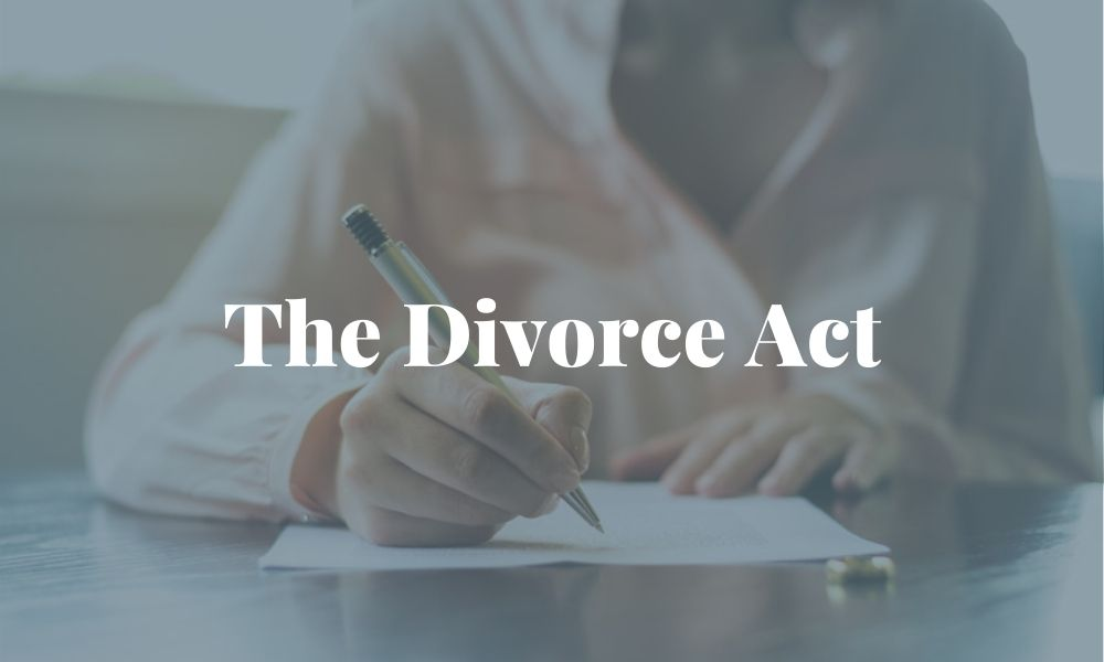 The Canada Divorce Act and How it relates to how spousal support is governed in alberta thumbnail image